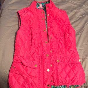 Brand new Lilly Pulitzer pink vest